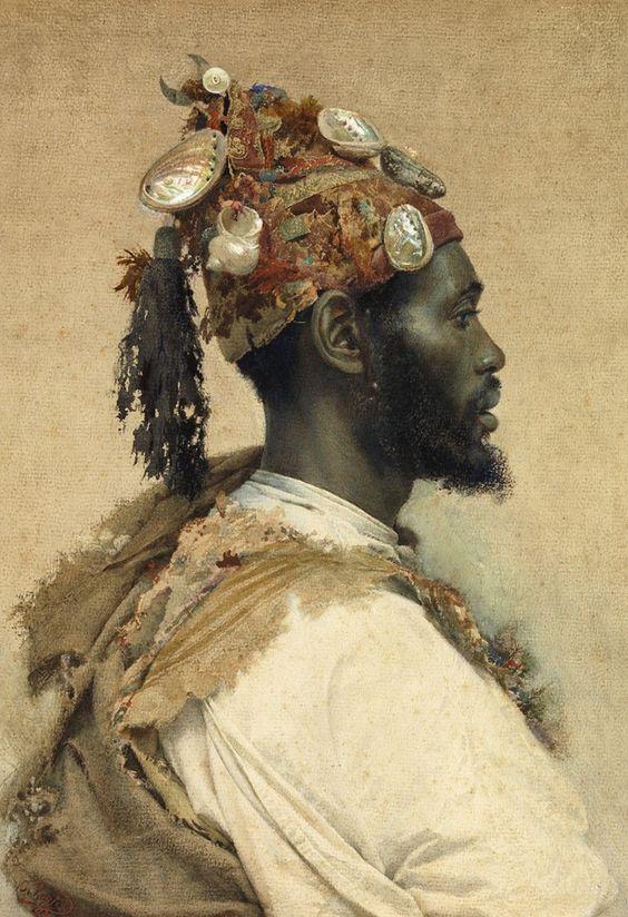 """Moor in a Headdress"" by José Tapiró y Baró"