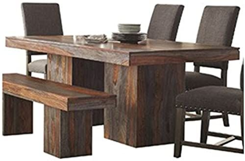 Beautiful Binghamton Sheesham Dining Table Grey Sheesham Furniture