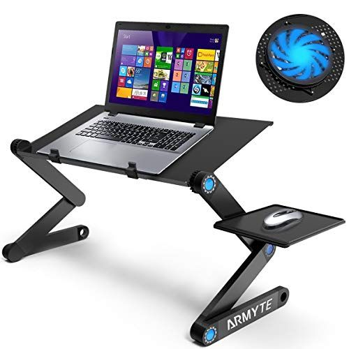 Ultra Large Tray Size 19 Adjustable Laptop Stand Fo Https Www Amazon Com Dp B07g7546rw Ref Cm Sw R P Laptop Desk Stand Laptop Stand Laptop Stand Bed