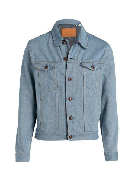 Kombinieren Sie diese Denimjacke in klarem Design zu Ihren liebsten Chinos oder wagen Sie den angesagten Allover-Look zu Jeans!