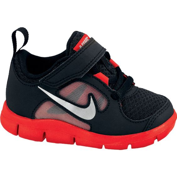 Nike Athletic Shoes for toddlers | Bike24 - Nike Free Run 3 Infant/Toddler Boys' Running Shoe - black/red ...