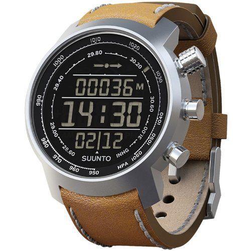 SUUNTO Multifunktionsuhr Armbanduhr Elementum Terra brown leather - Höhenmesser Kompass Barometer - braun - http://autowerkzeugekaufen.de/suunto/suunto-multifunktionsuhr-armbanduhr-elementum