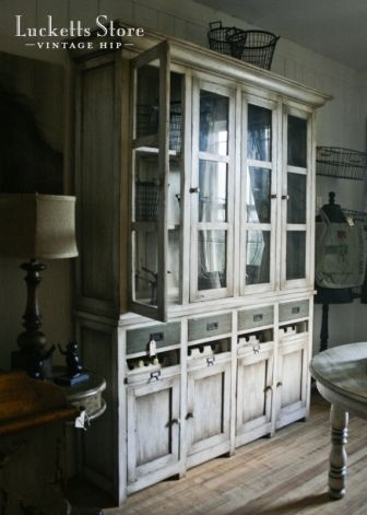 your dream cabinet   Old Lucketts Store - Design House