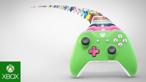 Xbox Design Lab - Xbox Wireless Controller - YouTube
