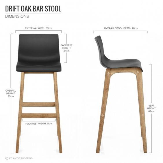 Bar on pinterest - Tabouret de bar resine tressee ...