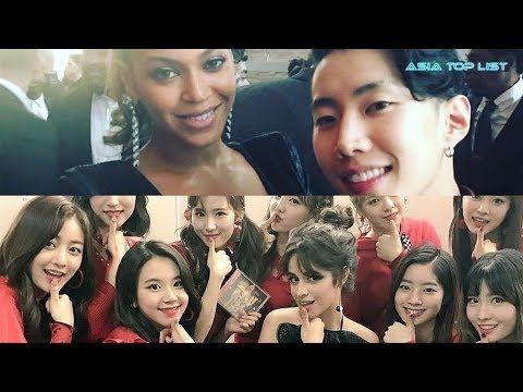 25 Selfies You Never Knew K Pop Idols Took With Western Celebrities Pop Idol Kpop Idol Idol