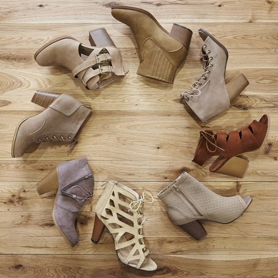 Shoe options for days! | Wet Seal