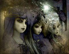 plenilune (ludyco) Tags: light moon dark doll embroidery gothic goth bjd dollfie superdollfie luce bambole msd minisuperdollfie balljointedd...