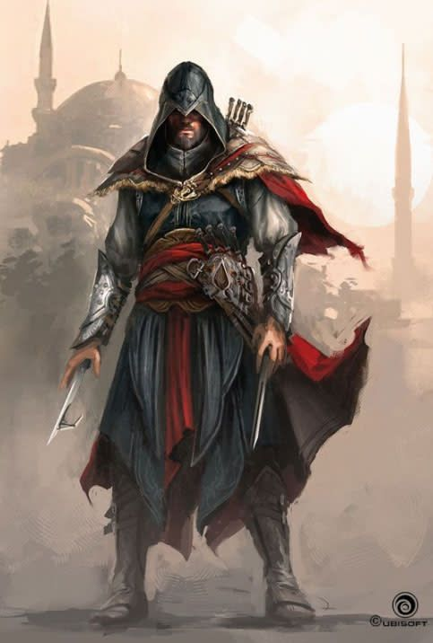 The Concept Art Of Assassin S Creed Revelations Assassins Creed Art All Assassin S Creed Assassins Creed Artwork Assassin creed revelations wallpaper hd