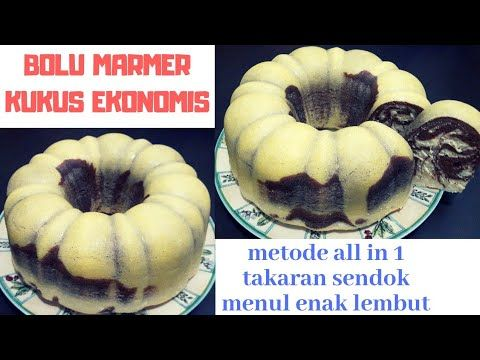 Resep Bolu Marmer Ekonomis Kukus Metode All In 1 Takaran Sendok Enak Dan Lembut Youtube Bolu Pastry Recipes Indonesian Food