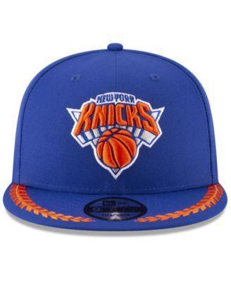 New Era New York Knicks Destroyer 9fifty Snapback Cap Blue Adjustable New York Knicks Snapback Cap Knicks
