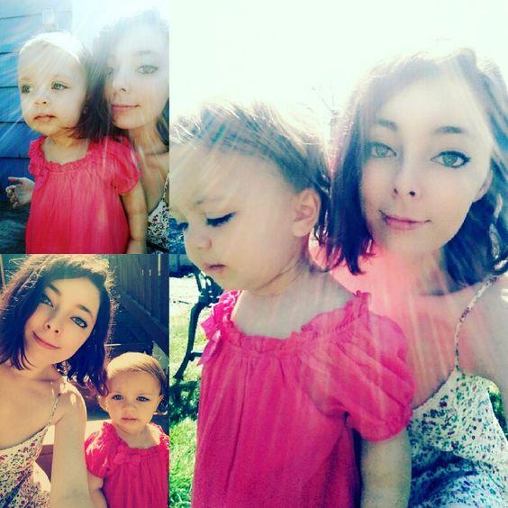 Me & Sophia.