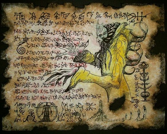 El Necronomicón,un libro salido de los infiernos 5e796660a76efb864fe50d2cb1d42360