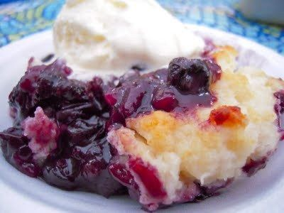 Blueberry Cobbler recipe at www.craigncompany.com | For your Palate ...