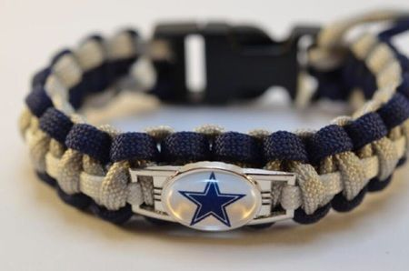 Paracord Armband Dallas Cowboys NFL für echte Football Fans
