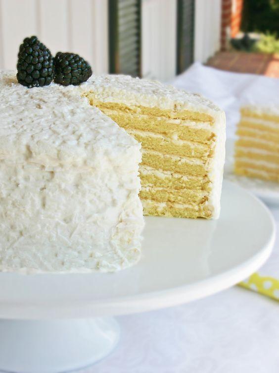 Caroline S Coconut Cloud Cake