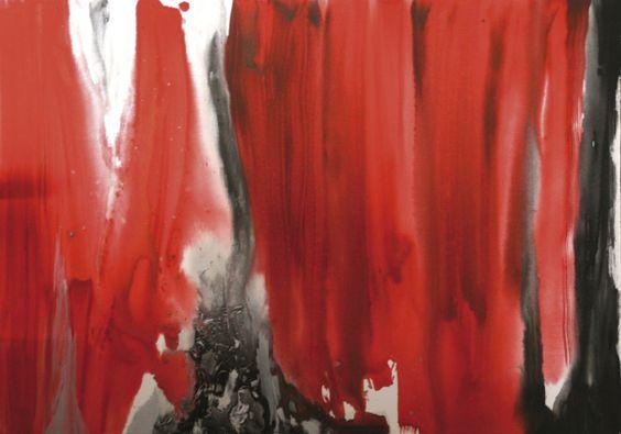 Quadro Rosso  70 x 100 acrilico su tela  2011