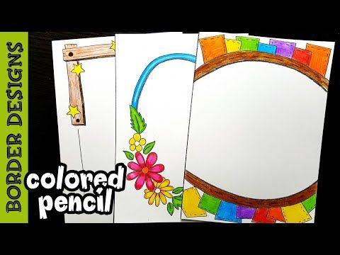 Youtube Border Design Borders For Paper Drawing Frames