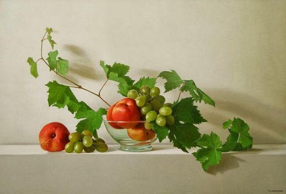 pinturas-al-oleo-de-bodegones-hiperrealistas-con-frutas