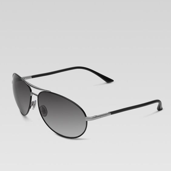 aviator sunglasses with gucci logo on temple GWS2502