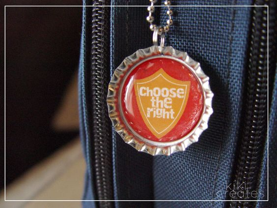 How to make Bottle Cap necklaces