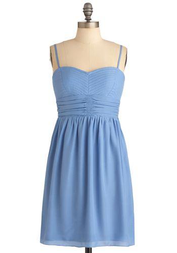 Cornflower You Today? Dress:
