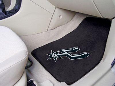 The San Antonio Spurs Carpet Car Floor Mat Set