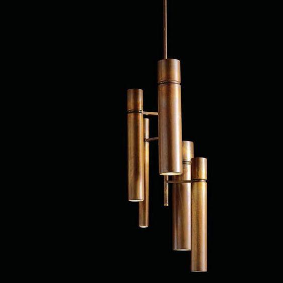 Lampes à suspension: Lampe Tubular Light par Henge