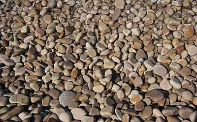 Pebbles Wall Paper Mural - Wallpaper & Border | Wallpaper-inc.com