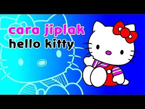 Tutorial Gambar Hello Kitty Jadi Vektor Youtube Hello Kitty