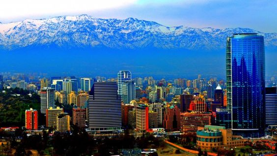 Santiago is a cosmopolitan city protected by the Andes and just 2 hours away from the beach.