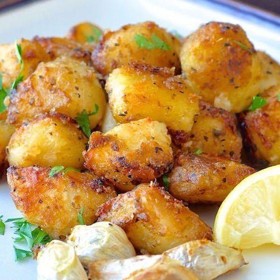 ... bulbs garlic lemon recipe garlic bulb roasted potatoes salts oil