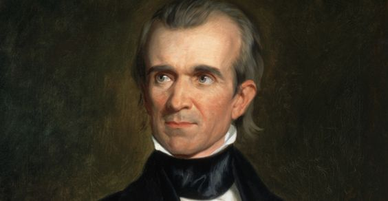 """11: James k. Polk  1795-1849  Dates in office   1845-1849 Political Party: Democrat:  Often referred to as the first """"dark horse"""" Polk was the last of the Jacksonians to sit in the White House, and the last strong President until the Civil War.  before he could take office, Congress passed a joint resolution offering annexation to Texas. In so doing they bequeathed Polk the possibility of war with Mexico, which soon severed diplomatic relations.."""