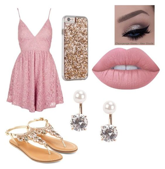 """Untitled #23"" by tabbytha-walsh ❤ liked on Polyvore featuring Topshop, Lime Crime, Case-Mate, Accessorize and Snö Of Sweden"