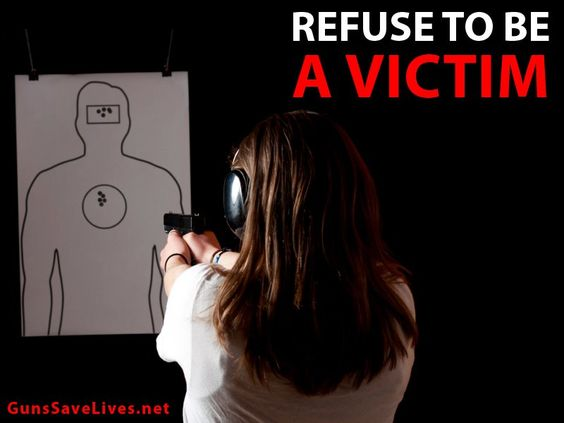 Refuse to be a Victim!