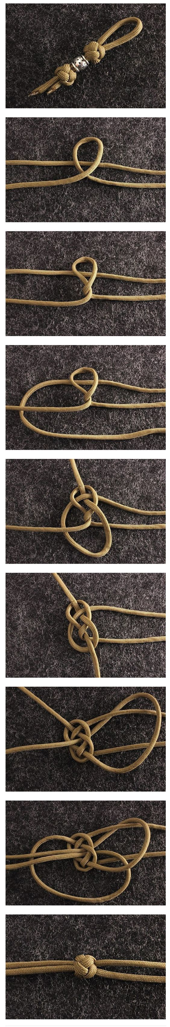 How to tie a cute knot