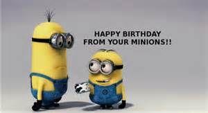 Birthday Wishes Minion Birthday And 4th Birthday On Pinterest Minion Happy Birthday Wishes
