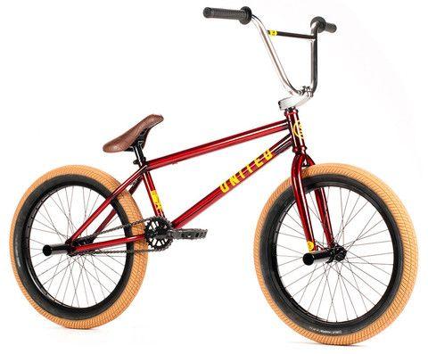 United 2015 Supreme Expert 20 5 Trans Red Bmx Bike Bmx