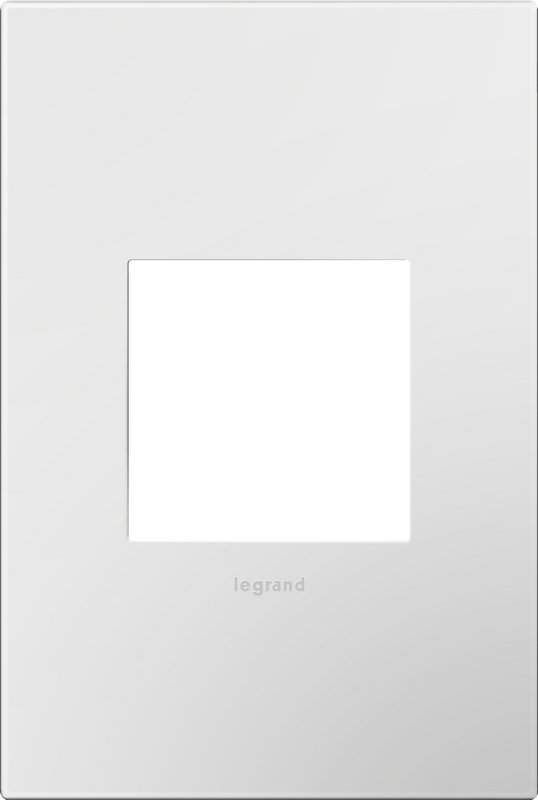 Legrand AWP1G26 Adorne Screwless Wall Plate Glossy White Lighting Controls  Wall Controls Wall PlatesLegrand AWP1G26 Adorne Screwless Wall Plate Glossy White Indoor  . Adorne Lighting Control. Home Design Ideas