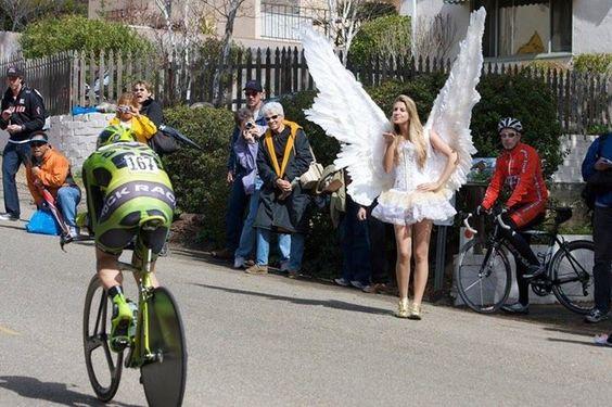 Un ángel...