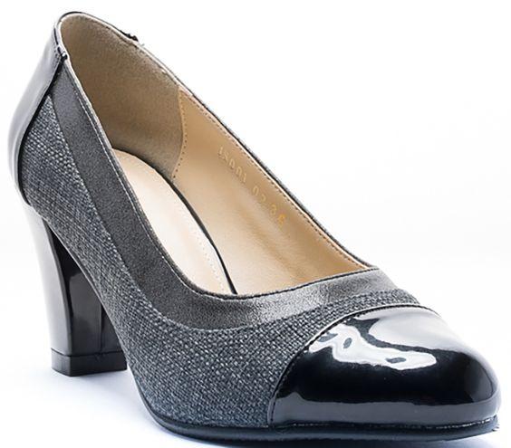 MX MANIERE Trendy Pump Heel Grey http://ho.lazada.com.my/SH6dH4