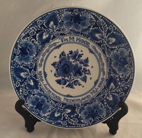 Online veilinghuis Catawiki: De Porceleyne Fles - Delftsblauw wandbord