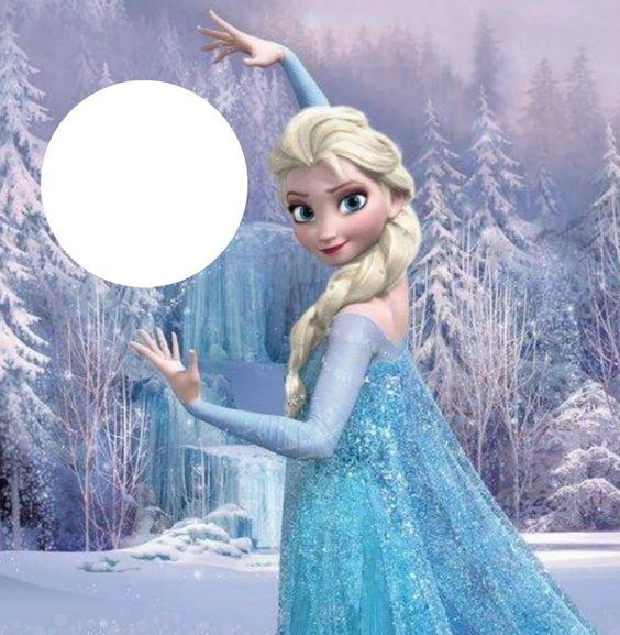 Bien-aimé Montage photo la reine des neiges - Pixiz | PIXIZ | Pinterest  HG51
