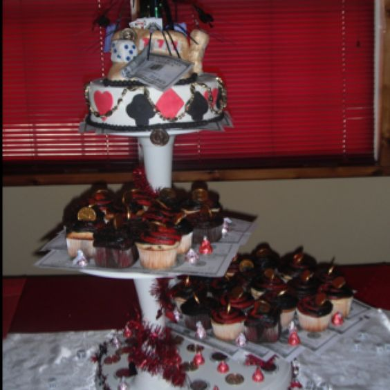 Red Velvet, Chocolate and Vanilla KupKakes with a Chocolate Buttercream