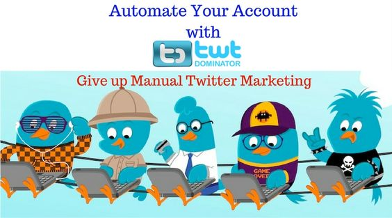 automate Twitter account