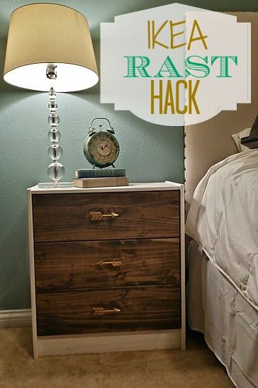 ikea rast hack diy nightstand dream master bedroom pinterest stains love the and hacks. Black Bedroom Furniture Sets. Home Design Ideas