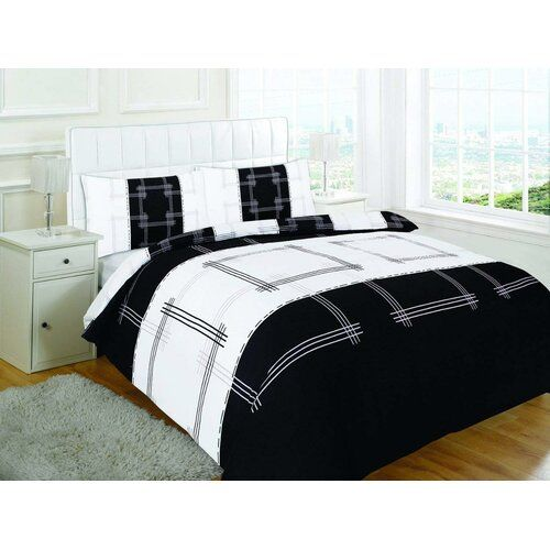 Classicliving Beech Brushed Cotton Duvet Cover Set Duvet Cover Sets Black Duvet Cover Geometric Duvet Cover