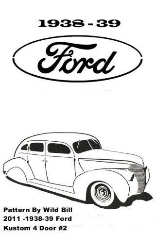1938-39 Ford Kustom 4 door #2 - Transportation - User Gallery - Scroll Saw Village