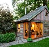 Rustic and Beautiful Backyard Micro-House is Built from Recycled Barnboard | Inhabitat - Sustainable Design Innovation, Eco Architecture, Green Building