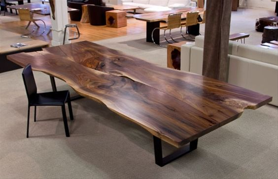 Walnut Dining Table Modern Dining Room Tables And Dining Room Decorating On